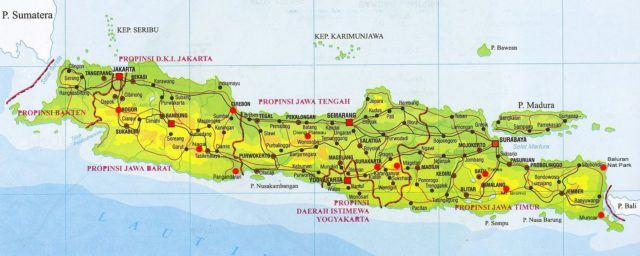 Map of Java