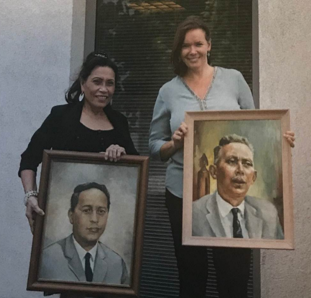 TIP Delivers Portraits to Moesson
