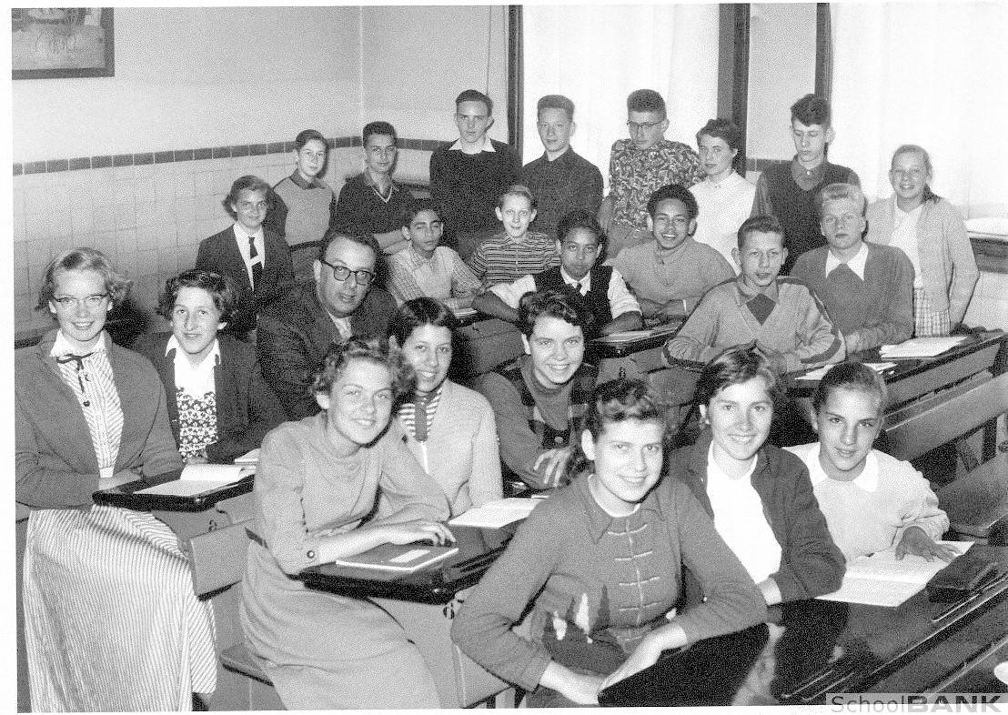1955 Indo Scientist Edward Frietman Rotterdam HBS