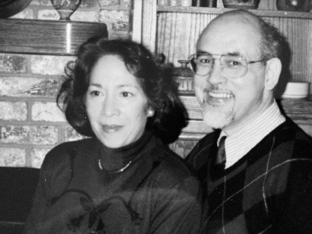 Indo Scientist Edward Frietman with wife Inca