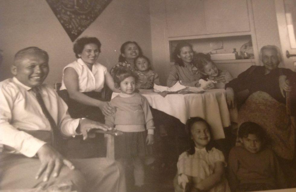 Indo Sylvie Waxman's Family includes Mama Leen Amersfoort de Nijs family