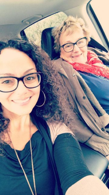 2017: Indo Sjoekje F. Sas(a)bone's and her mother visiting Carmel, CA for her mother's 83rd birthday