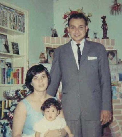 Indos Piet and Margaret Veerman with daughter Monica