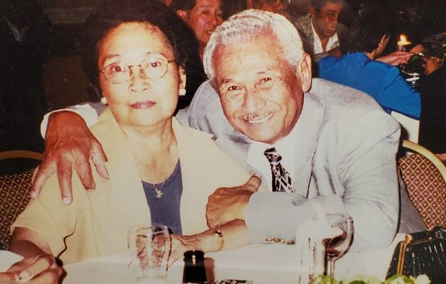 Indos Rudy and Lolly Waldt, here at Avio/Dutch club in 1999 in Orange County, California; entered Netherlands 1954, US in 1961
