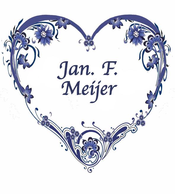 In memory of my father, Jan. F. Meijer ~ Francesca Meijer-Ernst