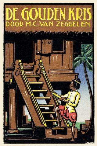 Book cover of De Gouden Kris