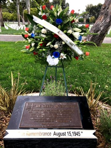 2021 Commemoration Day - Indo Monument and Wreath in Los Angeles Cemetery