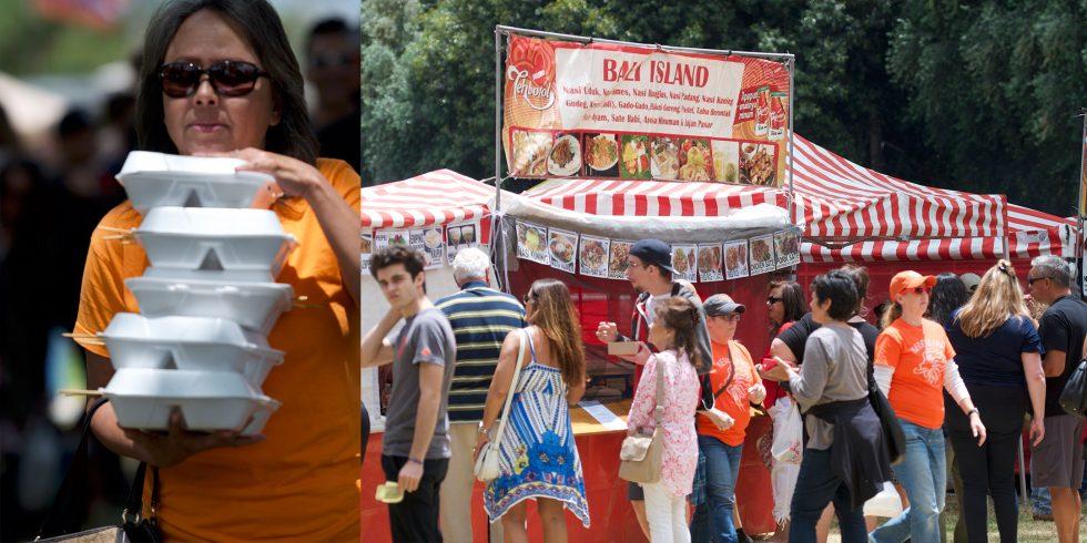 Indo Food at Holland Festival Long Beach