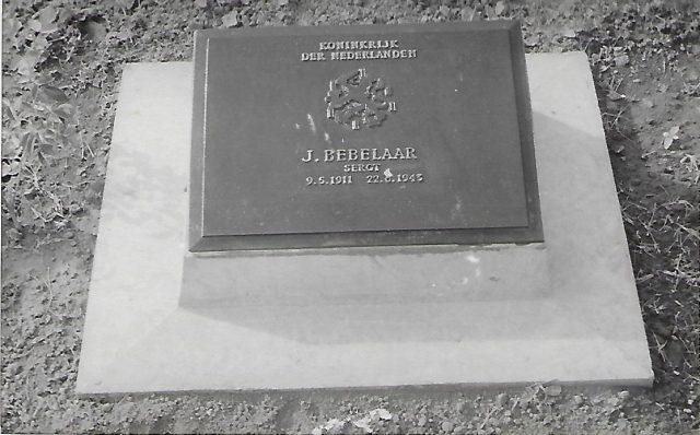 Jacob Bebelaar Grave in Thanbyuzayat, Burma